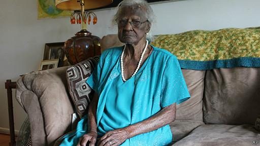 La mujer más longeva de EE.UU. cumple 115 años