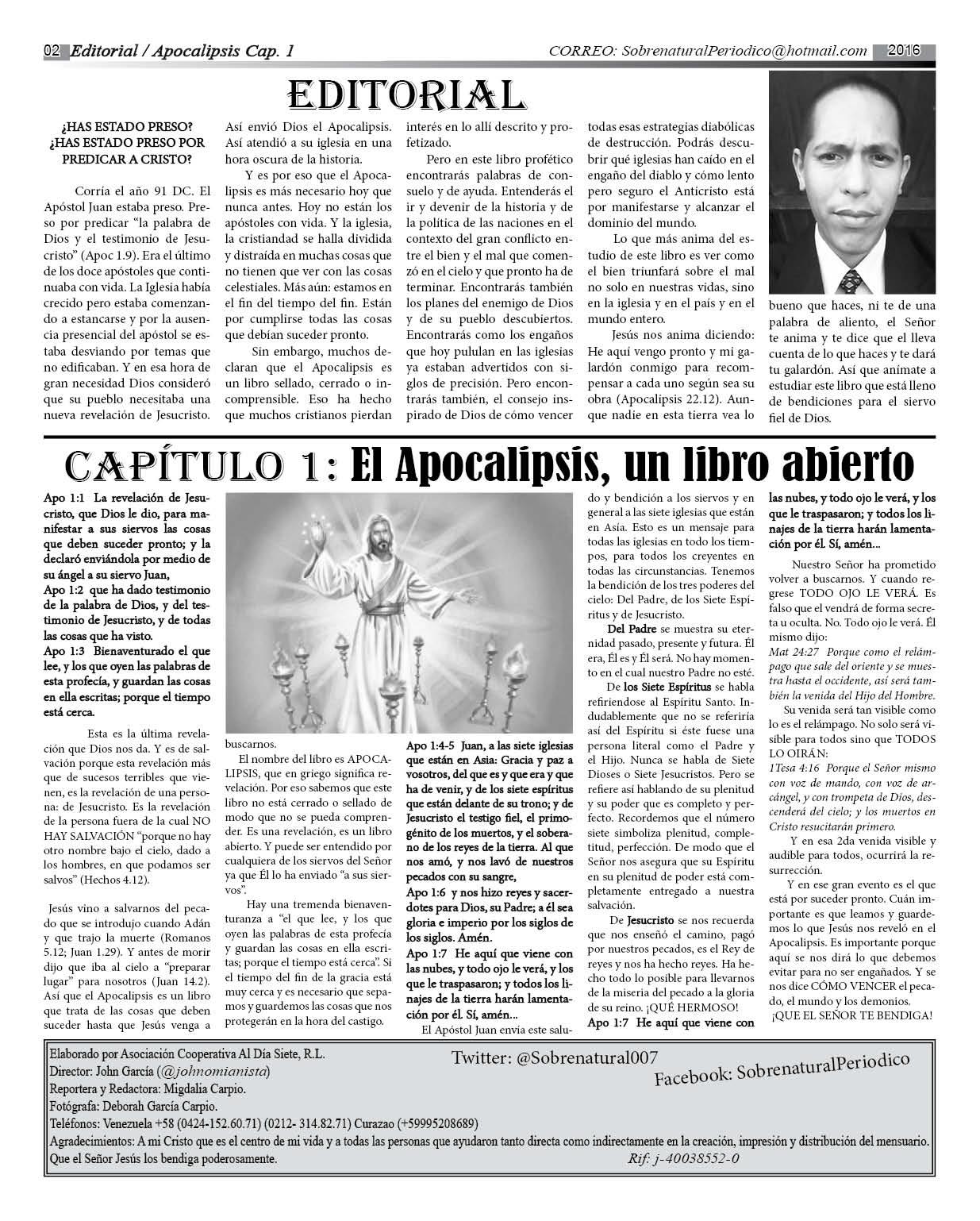 P2 Periodico Apocalipsis 2016