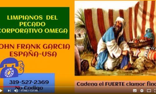 Limpiándonos del Pecado Corporativo (Fuerte Clamor Final – 31 Marzo 2018)