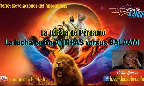 AP105 SERIE: Revelaciones del Apocalipsis (La Iglesia de Pérgamo)