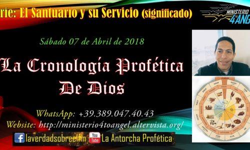 La Cronología Profética de Dios – Video