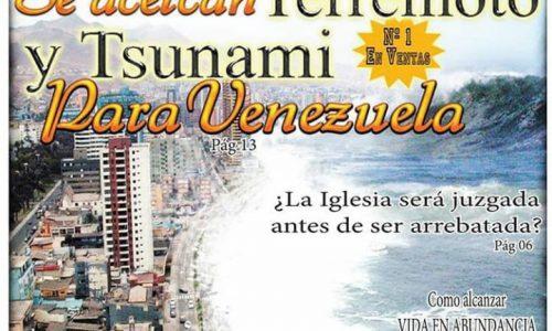 EL TERREMOTO EN VENEZUELA FUE PROFETIZADO EN 2014 por nuestro ministerio
