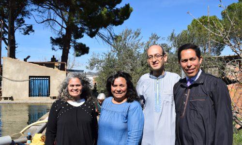 LA ANTORCHA PROFÉTICA hace REBAUTISMOS en la autoridad de Jesucristo (1er re-bautismo en España de este ministerio)